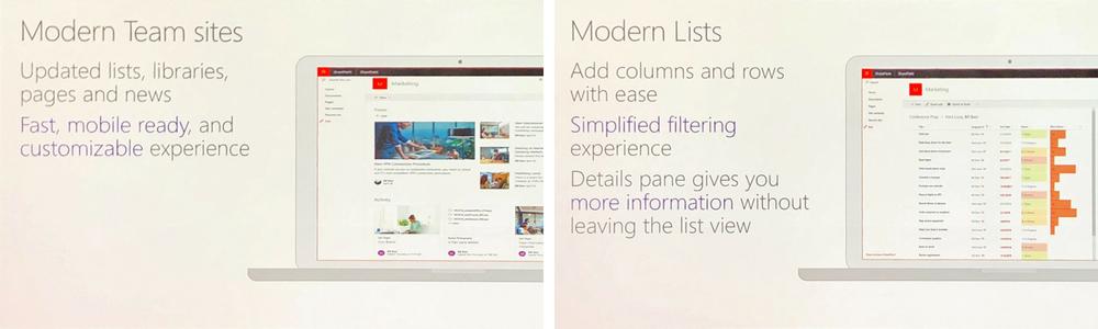 ECS - SharePoint 2019 Modern Experience