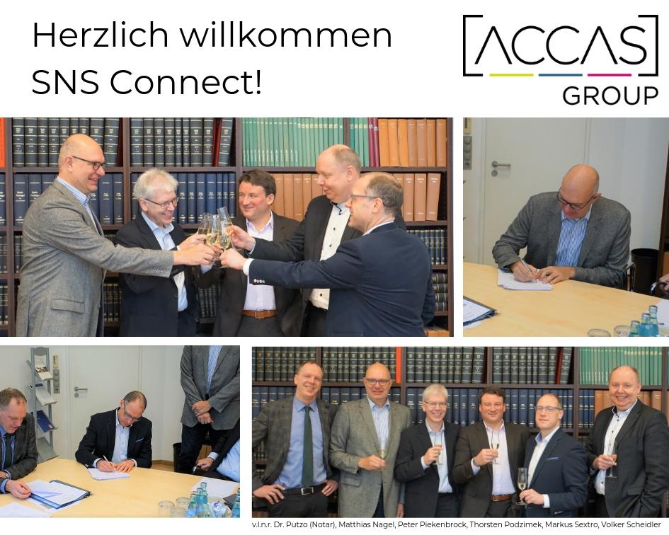 Die ACCAS-Group wächst