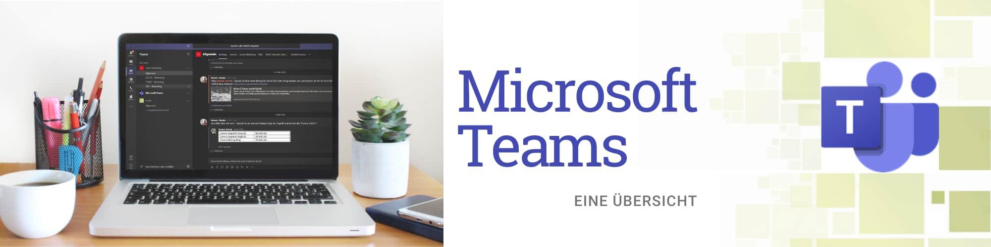 Microsoft Teams Übersicht acoris