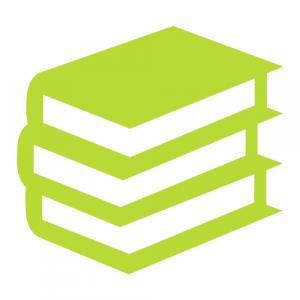 Piktogramm Bücherstapel - Ordnung