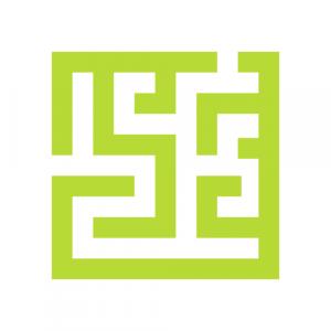 Piktogramm Labyrinth