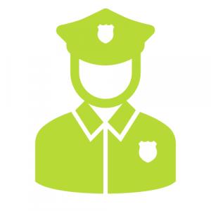 Piktogramm Polizist - Compliance