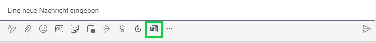 Screenshot Forms im Chat